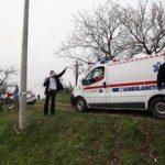 Una ambulancia llega a una casa en la aldea de Valika Ivanca, Serbia. Foto/ AP