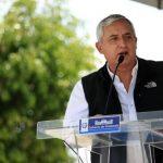 El Presidente guatemalteco, Otto Pérez Molina, pidió suspender la consulta popular. foto edh / efe