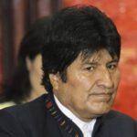 El gobernante de Bolivia, Evo Morales.