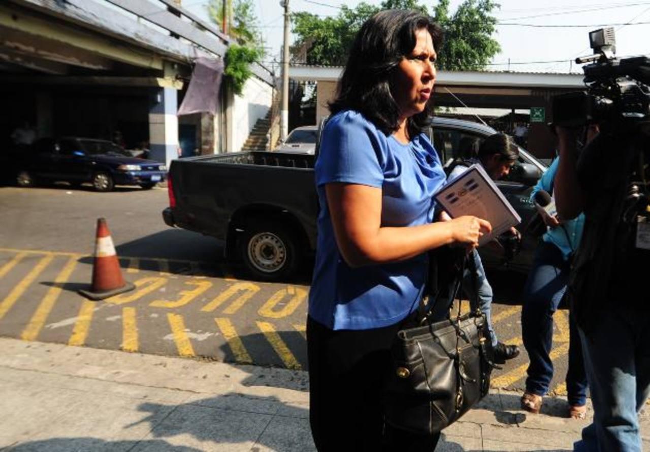 Silvia Aguilar abandonó su interés por la Corte de Cuentas.