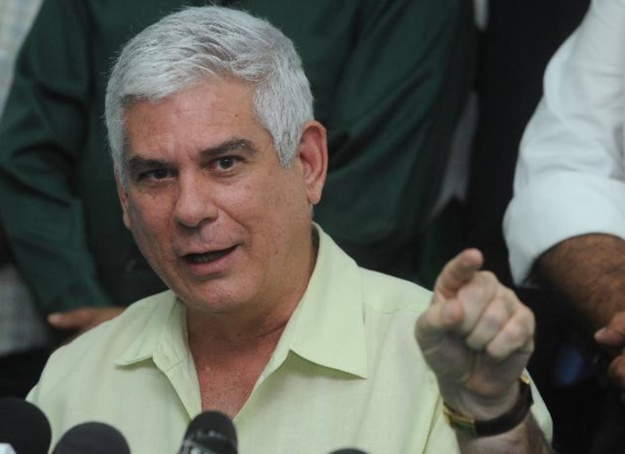 El legislador pedecista dijo que truene o llueva no votarán por la destitución de los cuatro magistrados. Foto EDH / archivo