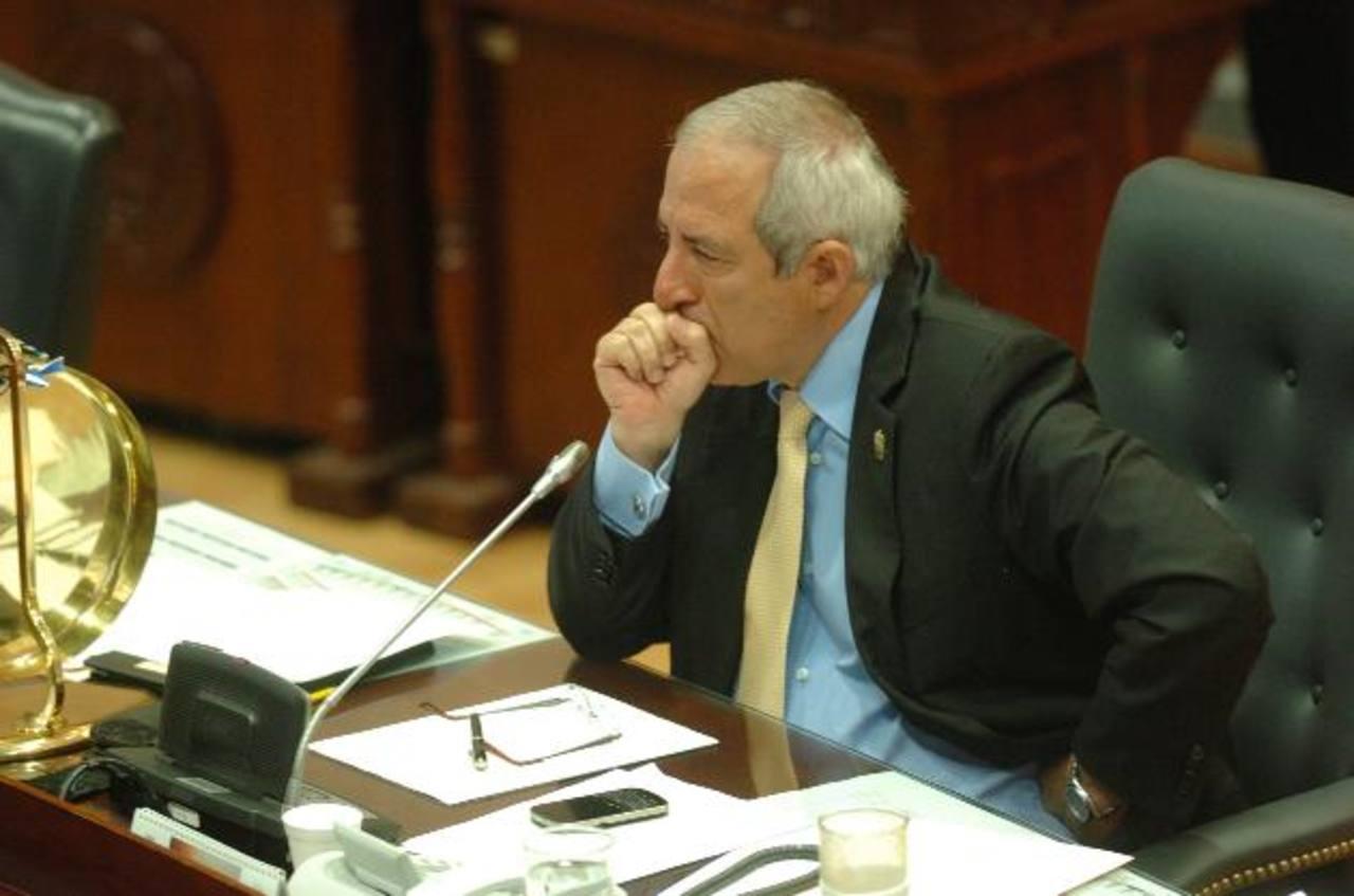 El presidente de la Asamblea Legislativa, Sigfrido Reyes, es uno de los más críticos del fallo de la Sala.