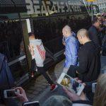 Bieber durante su gira en Estocolmo. Foto Agencias