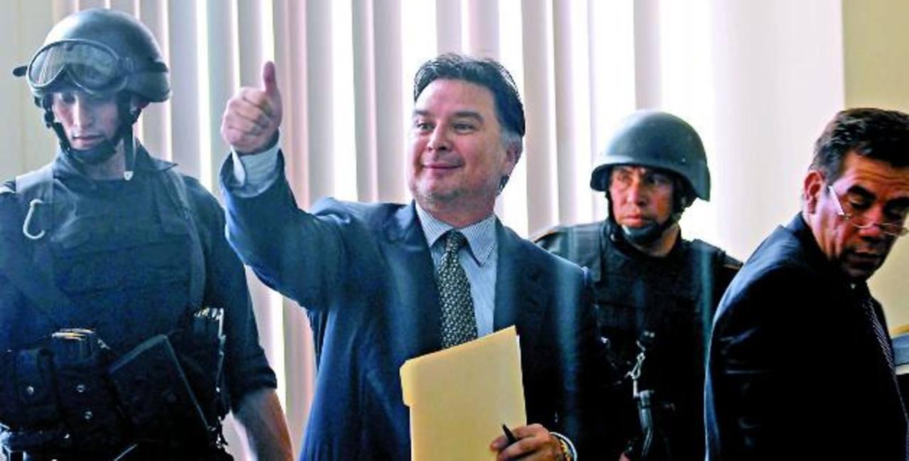 Ahora la justicia de EE.UU. espera a Alfonso Portillo.