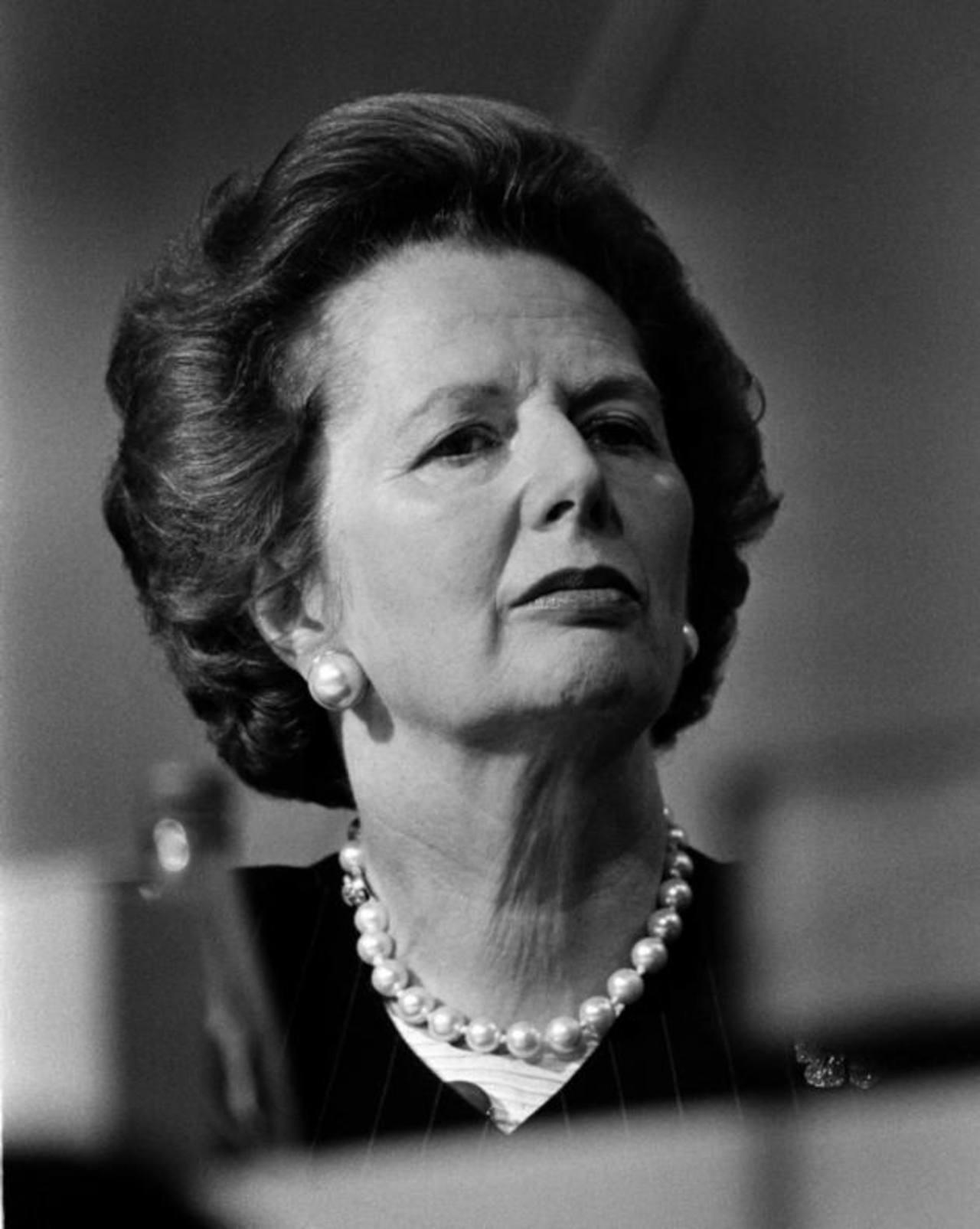 """Muere Margaret Thatcher, la """"Dama de Hierro"""""""