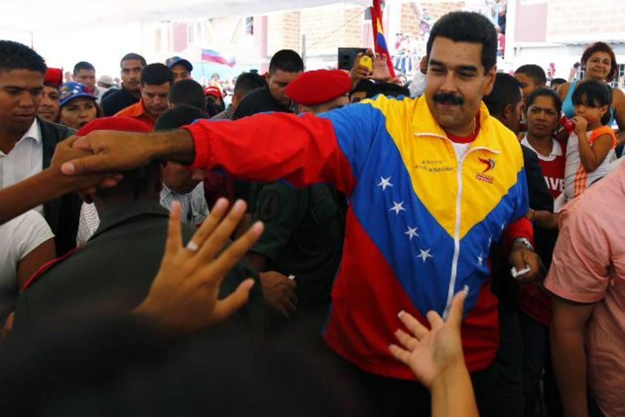 """El gobernante venezolano, Nicolás Maduro, denunció una supuesta """"segunda emboscada violenta"""" en el país y anunció que ha ordenado que se detenga a las personas a las que se les encontraron las pruebas de un presunto plan de desestabilización. foto ed"""