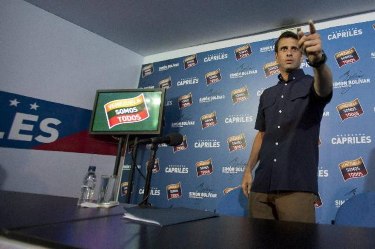 Capriles acepta anuncio del CNE de auditoría de votación