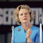 En 1975, Thatcher pasó a ocupar la presidencia del Partido Conservador.