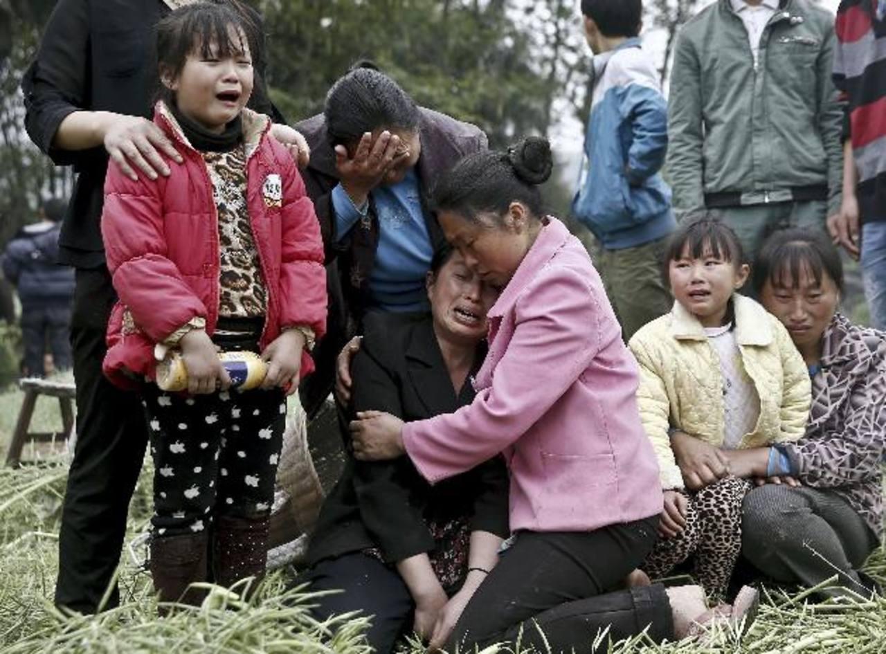 La gran mayoría de las víctimas murieron en el área municipal de Yaan, donde se registró el terremoto. foto edh / AP