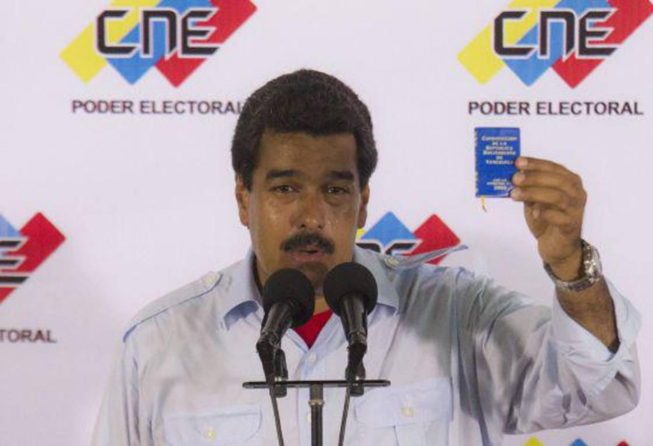 Maduro hace propaganda en plena jornada electoral