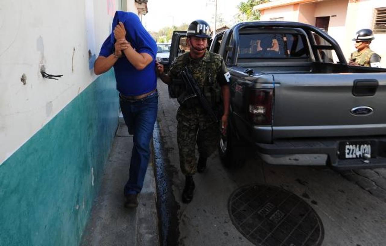 El militar fue enviado al penal de Metapán, mientras dura la investigación de ataque a dos estadounidenses.