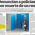El pasado 6 de septiembre, El Diario de Hoy denunció la muerte de Roberto Meléndez Barrera. Su familia está esperando justicia, ya que insisten en que hubo exceso de fuerza al detenerlo.