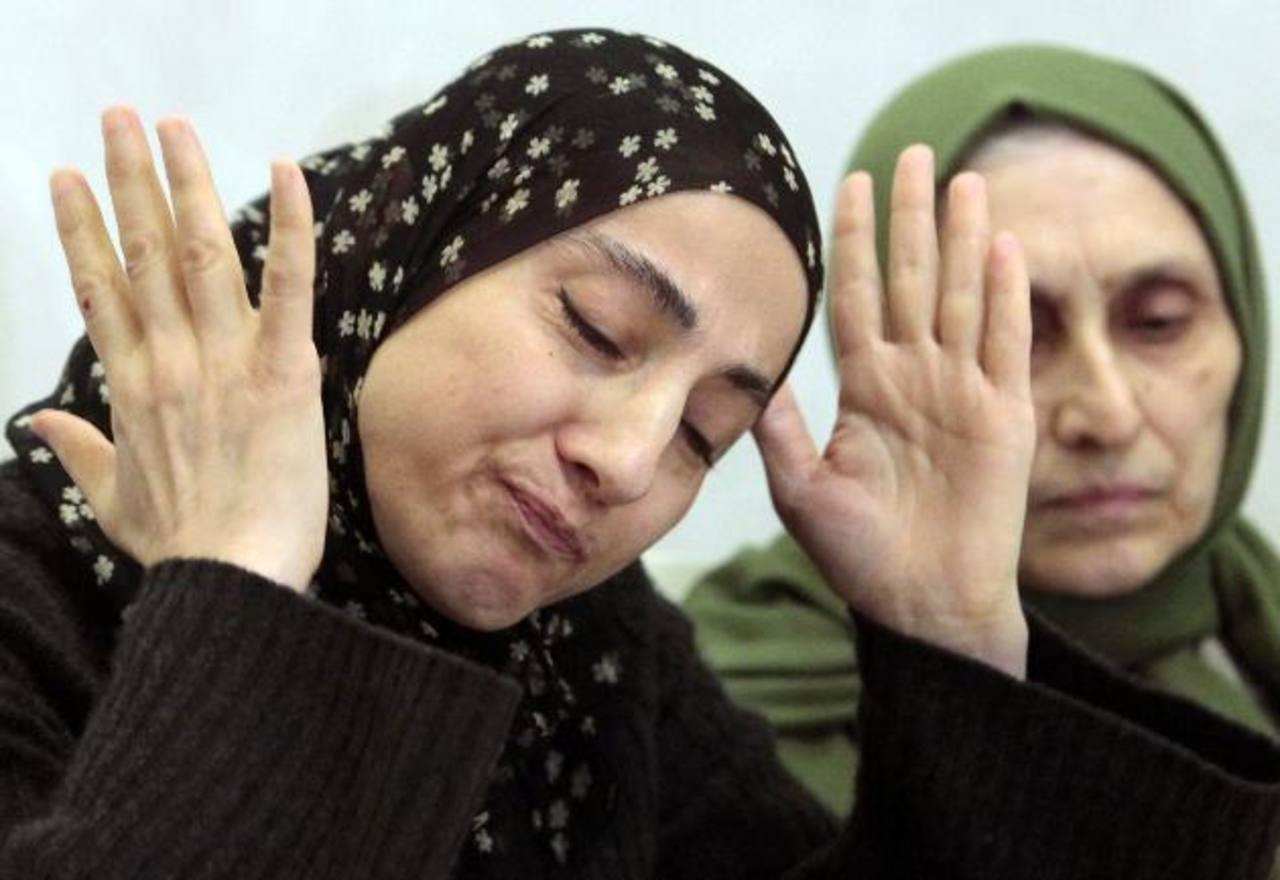 Zubeidat Tsarnaeva, madre de los sospechosos de los ataques en Boston. foto edh / ap