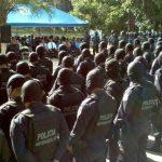 Policías antipandillas celebran su primer año luchando contra esos grupos criminales. Foto EDH / David Marroquín.
