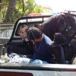 Estos son los sospechosos capturados. FOTO EDH tomado de facebook armando urquilla.
