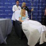 Heather Abbott, residente en Newport, Rhode Island, le fue amputada una pierna por debajo de la rodilla, tras ser herida en los atentados durante el Maratón de Boston. Foto/ reuters