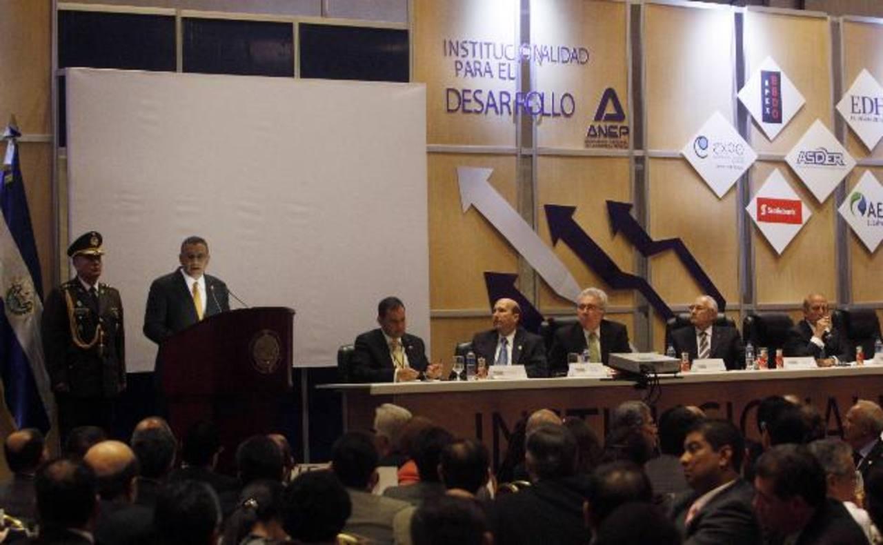 Históricamente el Enade ha sido el punto de encuentro entre las propuestas empresariales y el gobierno. foto edh / archivo