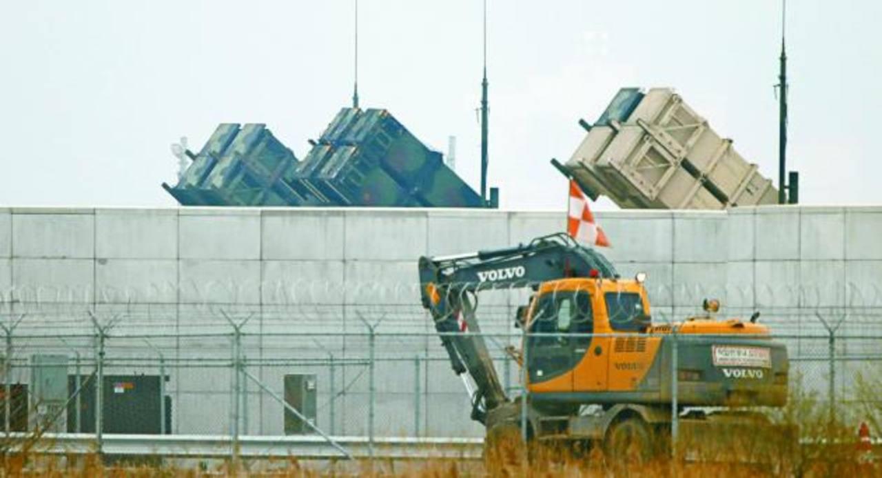 Baterías con misiles Patriot, de EE.UU., en la base de Osan, al sur de Seúl. foto edh / reuters