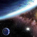 Esta representación artística proporcionada por el Centro de Astrofísica Harvard Smithsonian muestra los planetas recién descubiertos Kepler-62e y -f. Foto/ AP