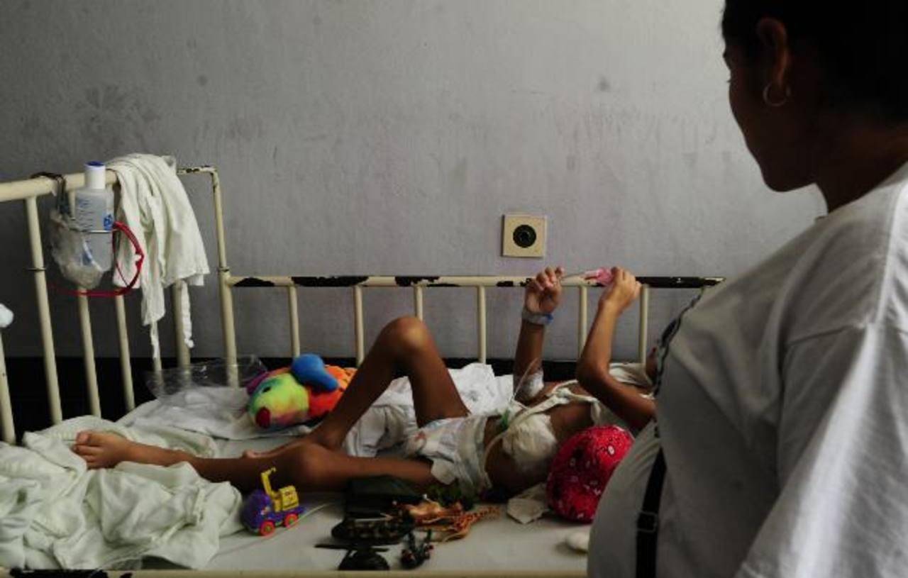 El niño ha permanecido hospitalizado por tres meses a la espera del trasplante de intestino.