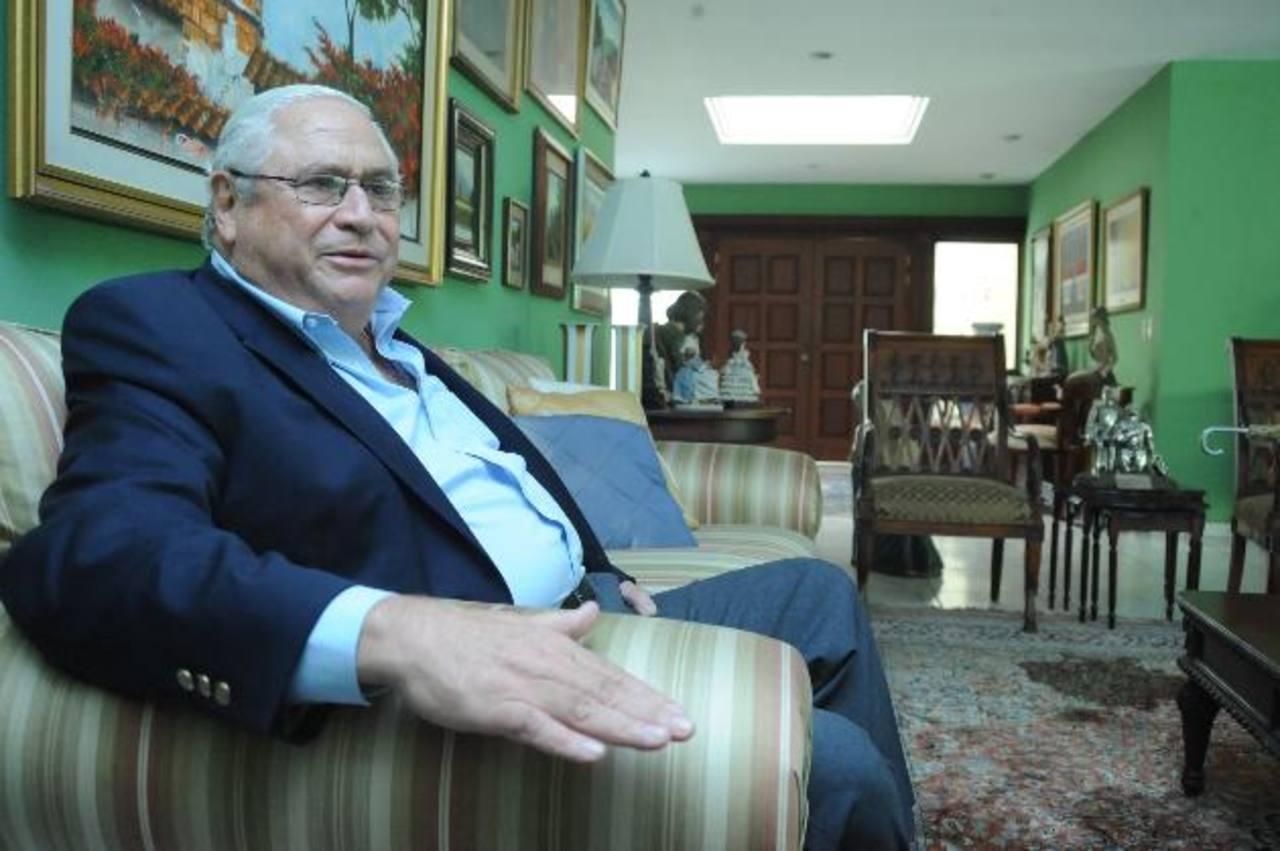 Armando Calderón Sol es uno de los tres presidentes honorarios de ARENA.