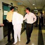El ahora convicto trabajaba en el Hospital Nacional Psiquiátrico, en horario nocturno.