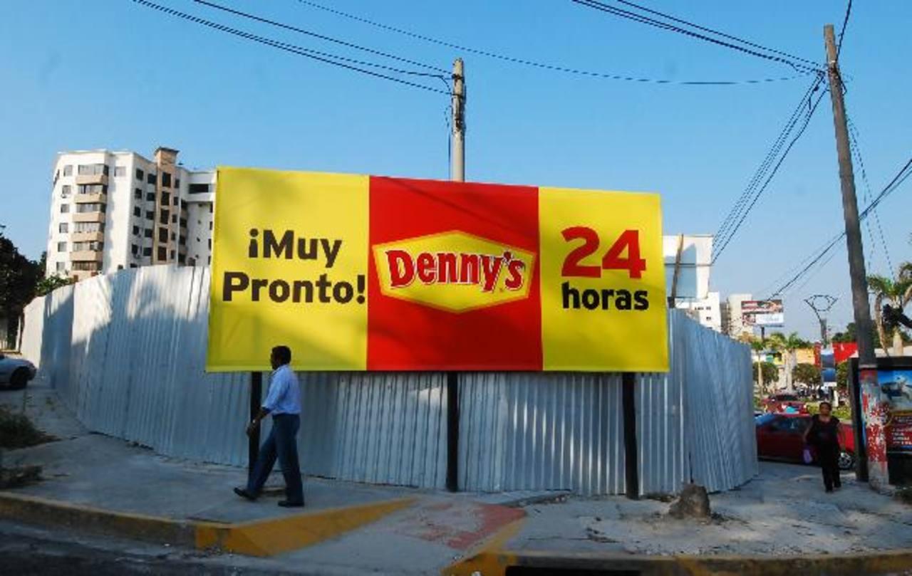 Denny's El Salvador estará ubicado en el Bulevar del Hipódromo. foto edh/marlon hernández