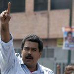 Maduro luego de emitir su voto en la jornada electoral. FOTO AP