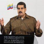 Maduro durante la conferencia en la que anunció los cambios en su gabinete. Foto Reuters