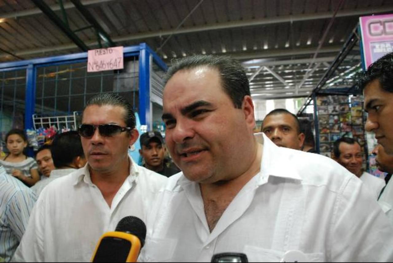 Elías Antonio Saca, candidato de Unidad, que busca otra presidencia. foto edh / archivo