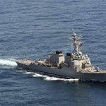 EE.UU. envía barcos de guerra al Pacífico occidental