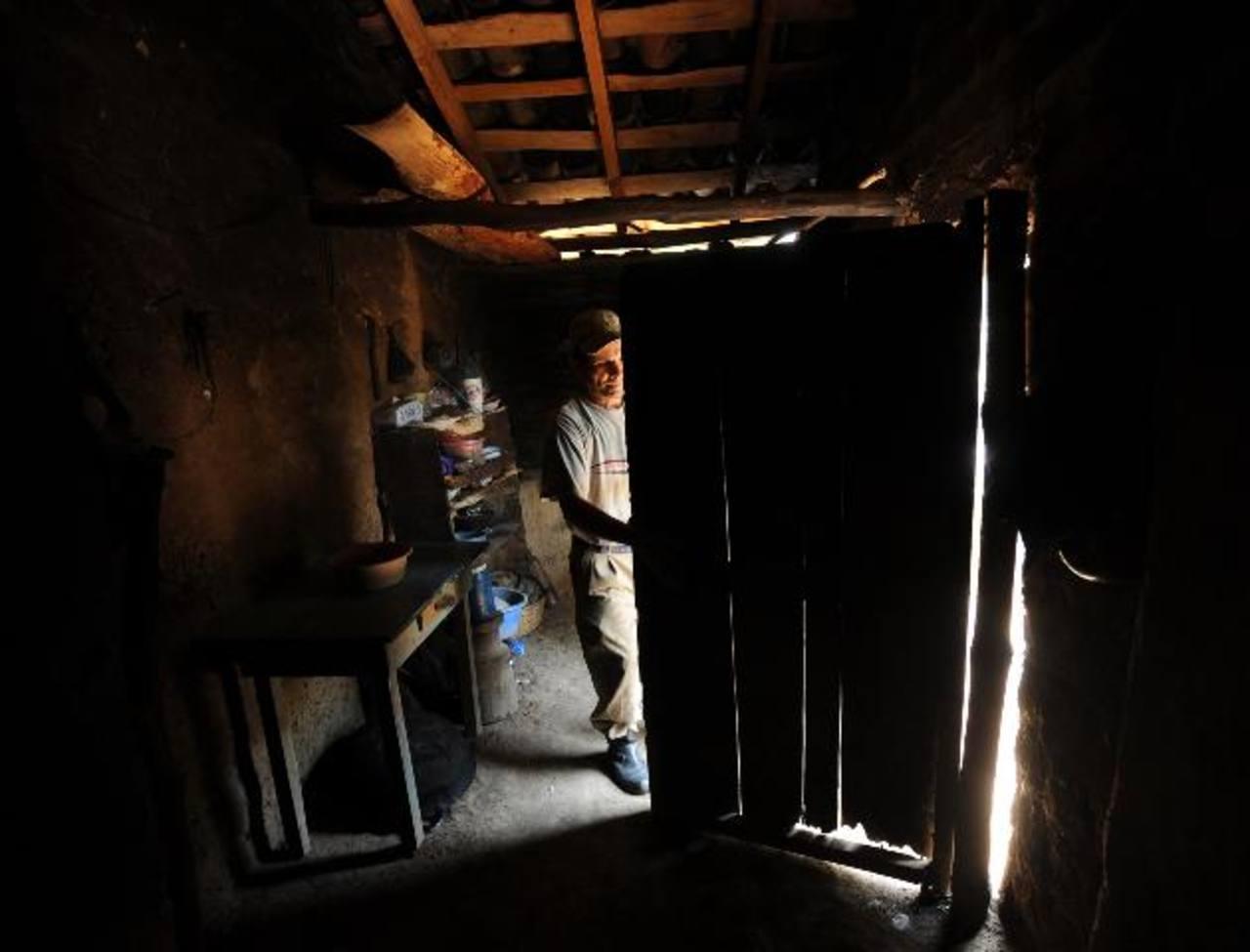 Casa donde vivían los esposos León López, asesinados el domingo. Fotos EDH / Douglas Urquilla