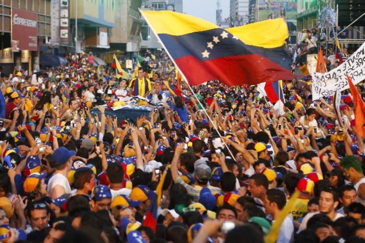 Campaña política en Venezuela salpica a El Salvador