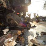 Accidentes viales dejan un muerto y siete heridos