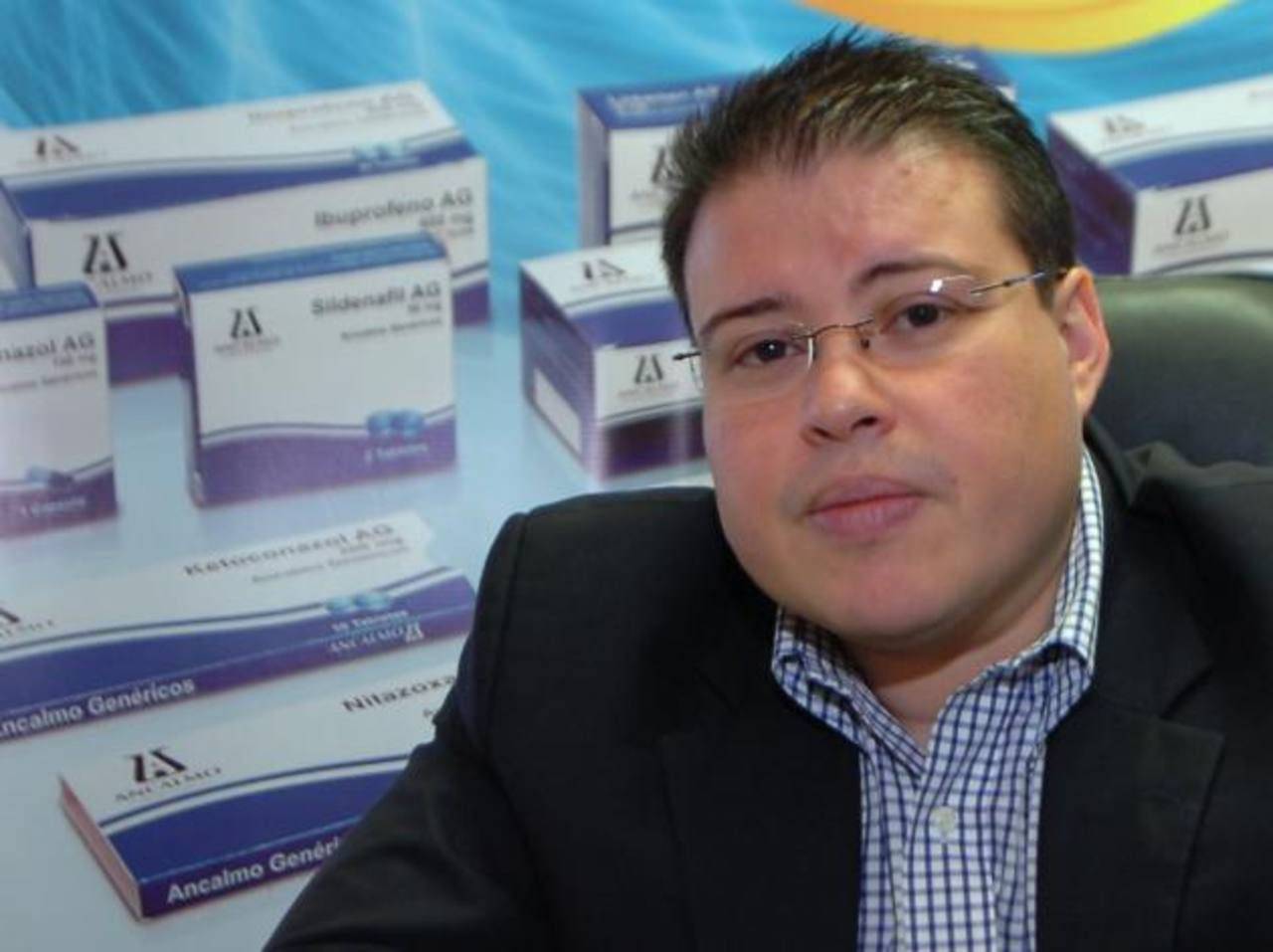 Ancalmo espera que la DNM agilice el registro de genéricos locales alternativos a los fármacos que serán retirados. Foto EDH