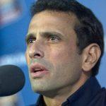 El líder de la oposición venezolana, Henrique Capriles Radonski.
