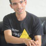 Carlos Armando Alberti Arroyo pertenece al grupo de investigación de espectroscopía óptica, de la Escuela de Física de la UES. Foto EDH / Douglas Urquilla