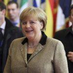 """Merkel, la canciller alemana, dijo que no es """"austeridad"""". """"Yo lo llamo equilibrar el presupuesto"""", se defendió."""