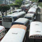 Caos vial desde el lunes en Bulevar del Ejército por trabajos del Sitramss