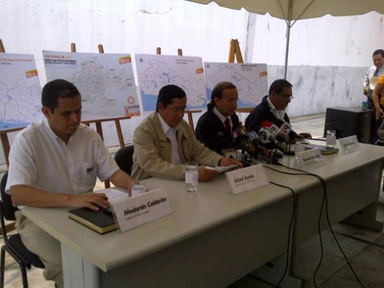 MOP y el FOVIAL lanzaron hoy el Plan Invierno 2013. Foto @alertasmop