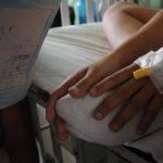 Un niño que resultó lesionado en un accidente de tránsito en San Salvador está en observación. Foto EDH /