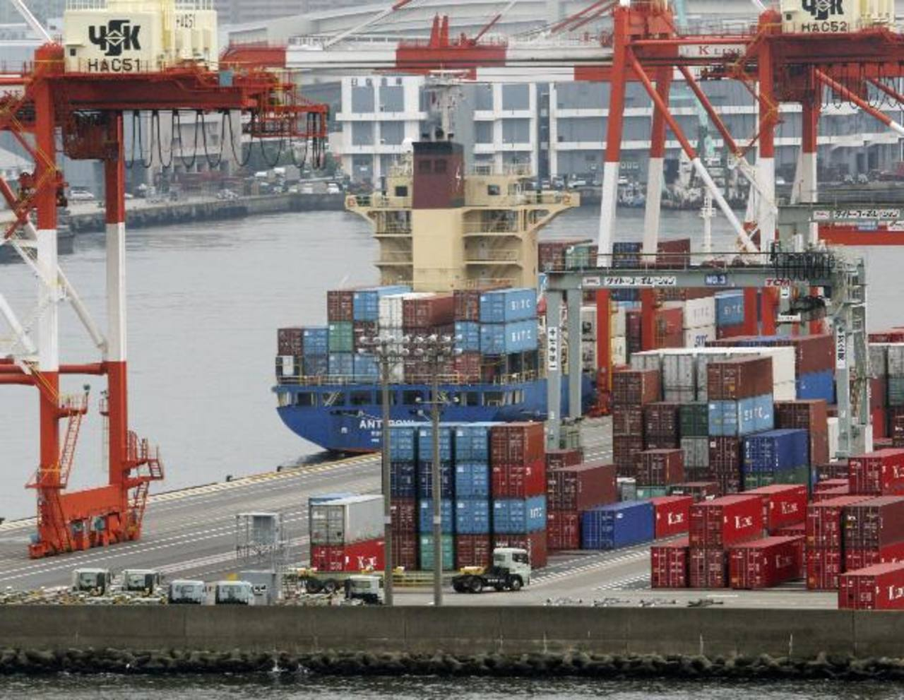 Las exportaciones crecieron menos por baja demanda.