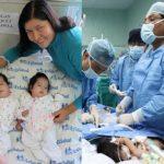 Las hermanitas Shadya y Shandell de dos meses y medio fueron operadas el 24 de abril. Foto tomada de diariocorreo.pe