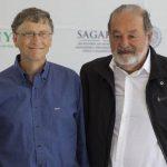Los magnates Bill Gates y Carlos Slim. Foto/ Archivo