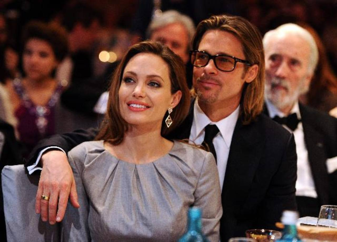 Angelina Jolie y Brad Pitt. Foto/ Archivo