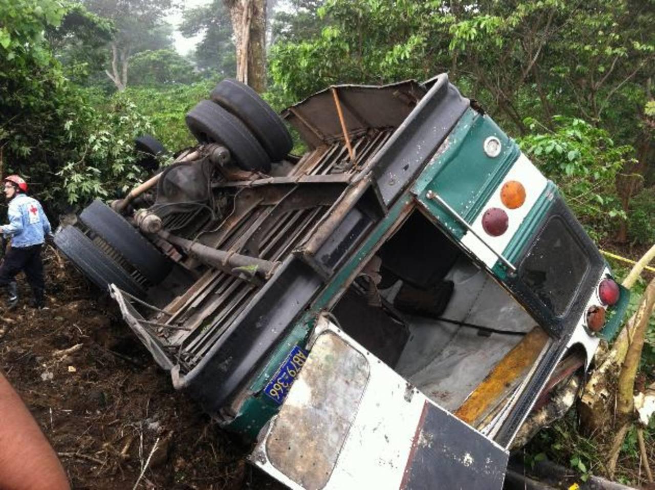 El accidente ocurrió la mañana del lunes sobre el kilómetro 14 de la calle al Boquerón, Santa Tecla. Foto/ Archivo
