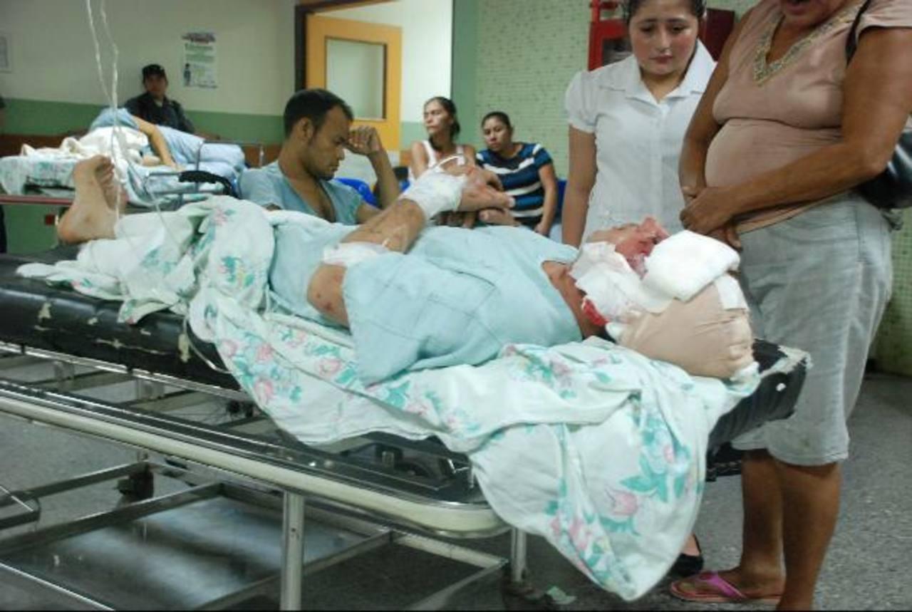 El hospital migueleño es el que más pacientes por accidentes recibe durante el año. Foto EDH / archivo
