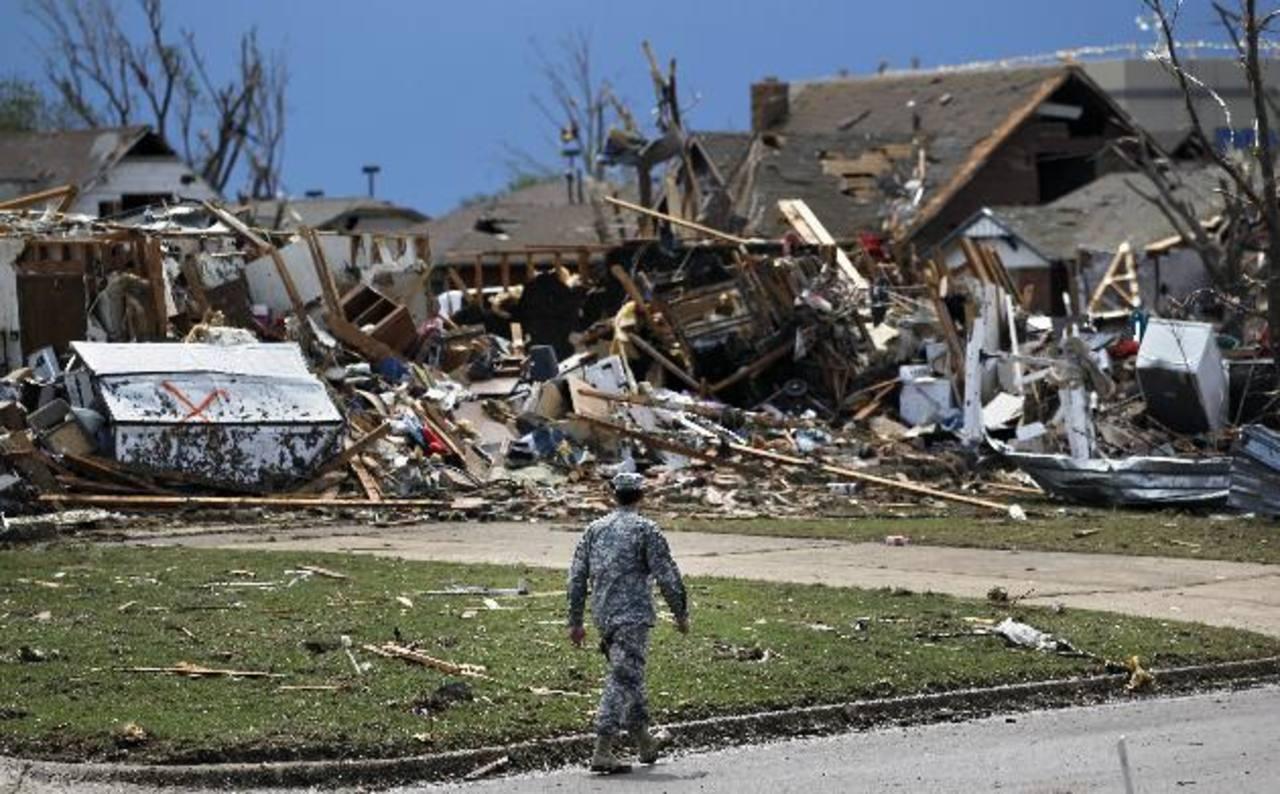 Tornado de Oklahoma peor que bomba de Hiroshima