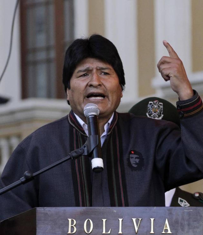 Evo Morales afirma que la USAID financia a organizaciones que se oponen a sus políticas. foto edh / reuters