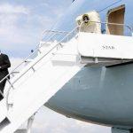 Presidente estadounidense, Barack Obama, llegó esta tarde a Costa Rica, donde se reunirá con mandatarios de la región. FOTO AP